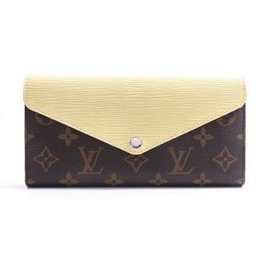Louis Vuitton Monogram × Epi Porte Mariel Roulon Women's Epi Leather,Monogram Long Wallet (tri-fold) Agave,Citrin