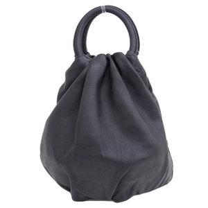 Genuine LOEWE Loewe BOUNCE leather 2 way handbag shoulder black Model: 33287 L40 bag