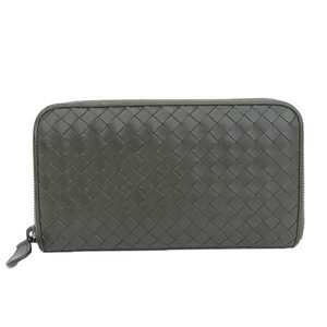 Genuine BOTTEGA VENETA Bottega Veneta Intrecherto Long Purse Wallet Leather