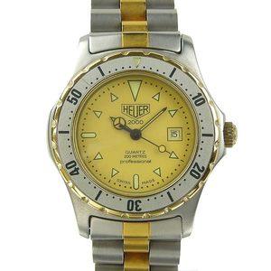 Genuine TAG HEUER Tag Heuer Professional 2000 Ladies Quartz Wrist Watch Model: 974.015