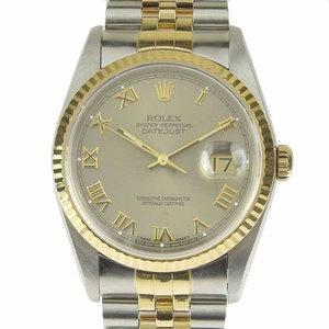 Genuine ROLEX Rolex Datejust Mens Automatic Wrist Watch Model: 16233 X