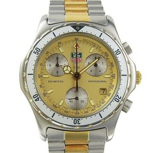 Genuine TAG HEUER Tag Heuer Professional Chronograph Men's Quartz Watch Model: 575.406