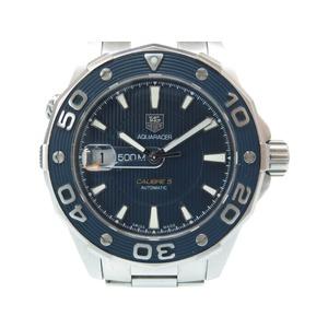 TAG Heuer Aqua Racer Caliber 5 Backslash Automatic Watch WAJ2112 Navy Dial 0076 TAG HEUER Men