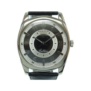 Rolex cherini danaos K18WG 750 gold solid 4243 K hand-rolled watch black 0050 ROLEX men's