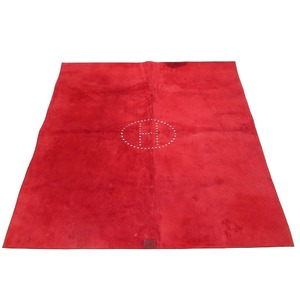 Hermes Evelyn Desk Mat Tablecloth Trillon Rouge Ash 0191 HERMES
