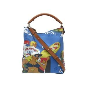 Loewe T Bucket Holiday 2WAY Shoulder Bag Leather 0170 LOEWE