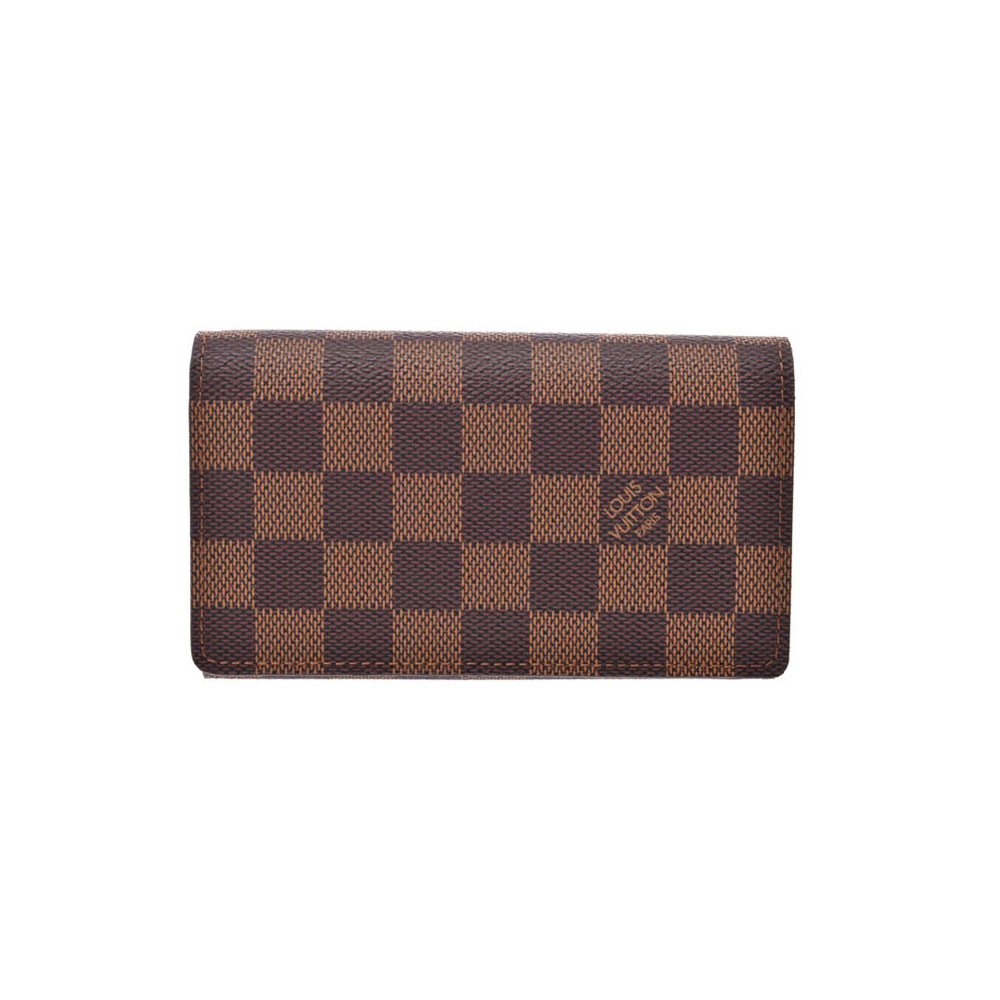 Louis Vuitton Damier Portofeil Tresol Brown N61736 Men's Women's Genuine Leather L-shaped zipper wallet unused beauty goods LOUIS VUITTON