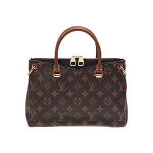 ルイ・ヴィトン(Louis Vuitton) ルイヴィトン モノグラム パラスBB ブラウン/黒 M41218 レディース 本革 2WAYバッグ Aランク 美品 LOUIS VUITTON ストラップ付 中古 銀蔵
