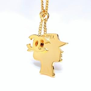 シャネル(Chanel) マドモアゼル 合金 レディース カジュアル,ファッション ペンダント (ゴールド) ココマーク