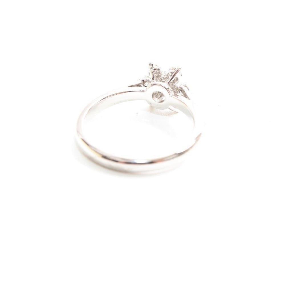ティファニー(Tiffany) バターカップ Pt950(プラチナ) 婚約&結婚式用 ダイヤモンド エンゲージリング カラット/0.22 プラチナ