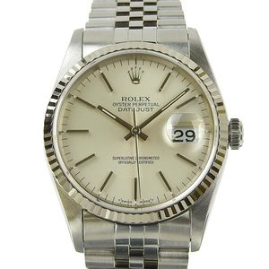 Genuine ROLEX Rolex Datejust Mens Automatic Wrist Watch Model: 16234 S-series