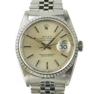 Genuine ROLEX Rolex Datejust Mens Automatic Wrist Watch Model: 16220 E-Series