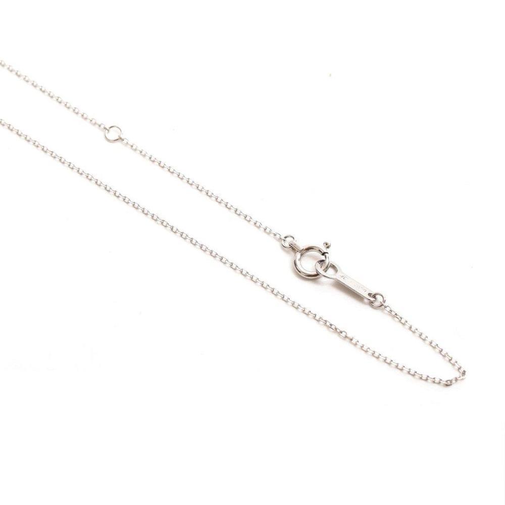 ヨンドシィ(4°C) K18ホワイトゴールド(K18WG) エメラルド レディース エレガント,ファイン ペンダント (ホワイトゴールド(WG)) 副石ダイヤモンド