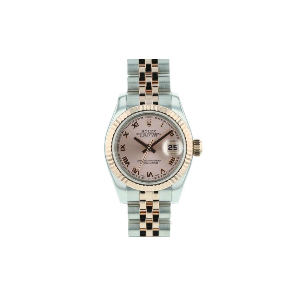 wholesale dealer 52516 4458f ロレックス(Rolex) デイトジャスト 自動巻き ステンレススチール(SS) レディース 高級時計 179171 | elady.com
