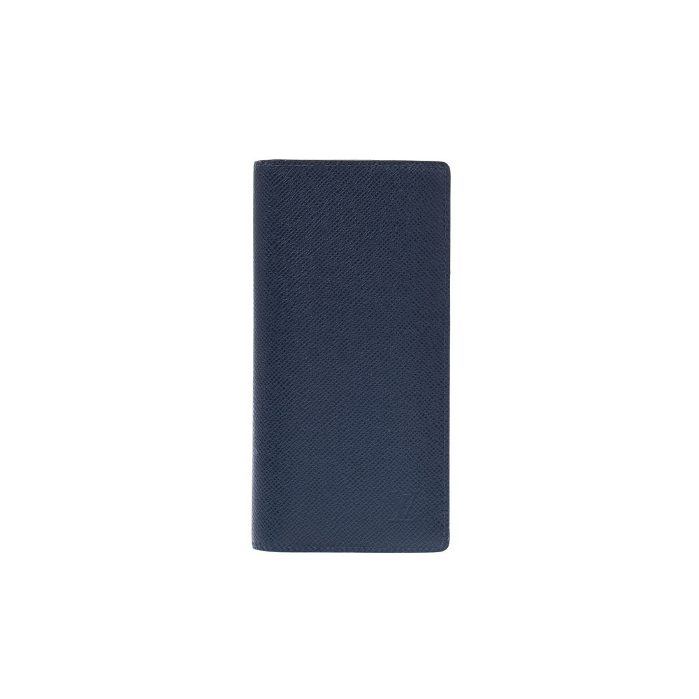 Louis Vuitton Taiga Portofouille Braza Blue Marine M30502 Men's Long Wallet New Same Product LOUIS VUITTON Used Ginzo