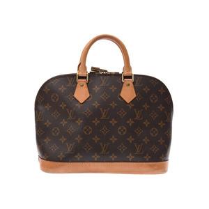 ルイ・ヴィトン(Louis Vuitton) ルイヴィトン モノグラム アルマ 旧型 ブラウン M51130 レディース 本革 ハンドバッグ Bランク LOUIS VUITTON 中古 銀蔵