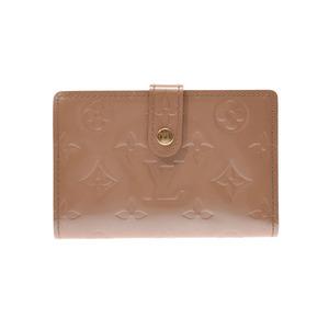 ルイ・ヴィトン(Louis Vuitton) ルイヴィトン ヴェルニ がま口財布 ノワゼット M91361 レディース ABランク LOUIS VUITTON 中古 銀蔵