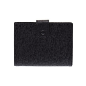 CHANEL Gama wallet Black G hardware Women's caviar skin AB rank Used Ginzo