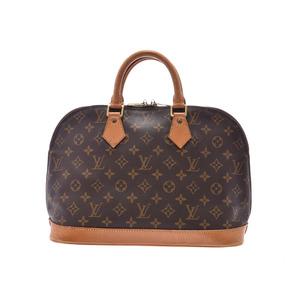 ルイ・ヴィトン(Louis Vuitton) ルイヴィトン モノグラム アルマ ブラウン M51130 USA製 レディース 本革 ハンドバッグ Bランク LOUIS VUITTON 中古 銀蔵