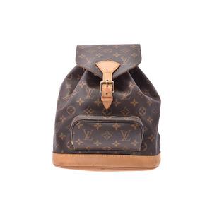 ルイ・ヴィトン(Louis Vuitton) ルイヴィトン モノグラム モンスリMM ブラウン M51136 レディース 本革 リュック Bランク LOUIS VUITTON 中古 銀蔵
