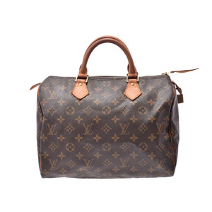 ルイ・ヴィトン(Louis Vuitton) ルイヴィトン モノグラム スピーディ30 ブラウン M41526 レディース 本革 ハンドバッグ Bランク LOUIS VUITTON 中古 銀蔵