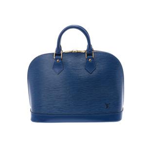 ルイ・ヴィトン(Louis Vuitton) ルイヴィトン エピ アルマ 青 M52145 レディース 本革 ハンドバッグ ABランク LOUIS VUITTON 中古 銀蔵