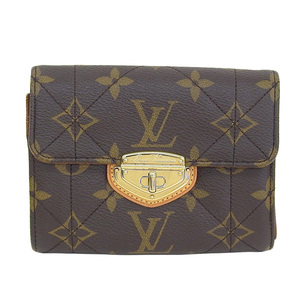 Genuine LOUIS VUITTON Louis Vuitton Monogram Etoile Compact Model: M63799 Wallet Leather