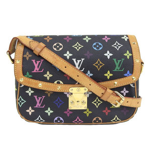 Louis Vuitton monogram multi Sologne shoulder bag noir black model number: M92639 leather