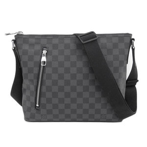 LOUIS VUITTON Louis Vuitton Damier Graphite Mock PM Shoulder Bag Leather