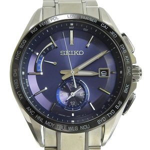 SEIKO Seiko Brights Mens Electric Wave Solar Watch 8B63-0AB0