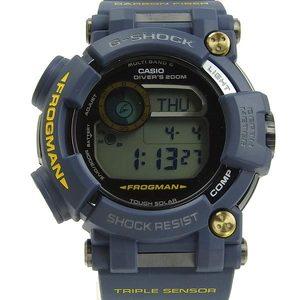 Genuine CASIO Casio G-SHOCK FROGMAN Men's Solar Watch GWF-D1000NV