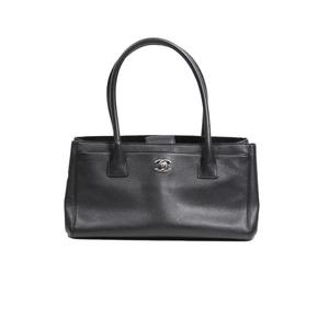 Chanel CHANEL Executive Tote Bag A67282 Grain Calfskin Black Women