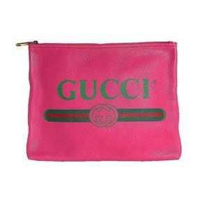 Gucci GUCCI Clutch Bag 500981 Leather Pink Men Women