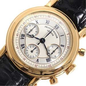 FRANCK MULLER Round Double Face Chronograph 7000DF Automatic Gold Reckless Men's Watch
