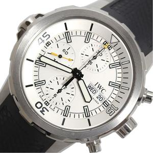 IWC Aquatimer Chronograph IW376801 Automatic Rolled Mens Rubber Belt Watch