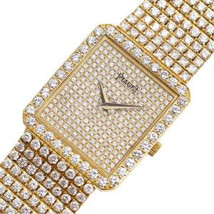 Piaget PIAGET Classic Quartz Gold Solid Diamond Men's Watch