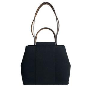 HERMES カ ー PM Towa フ ィ □ シ P ブ ラ ッ ク Black 2WAY tote bag Shoulder Women