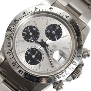 Tudor TUDOR Oyster Date Chrono Time No. 79180 B Automatic Silver Men's Watch
