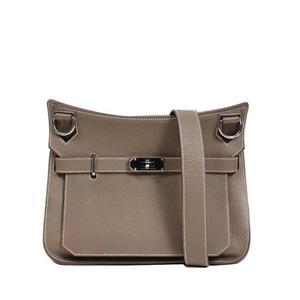 HERMES Jippushiaeru 28 Trillon Clements □ R エ Etoop silver fittings Shoulder bag