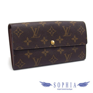 Louis Vuitton Monogram Portofeil Sarah Long wallet 20190402