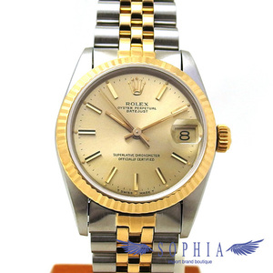 Rolex Datejust 68273 Gold Dial Boys 20190405