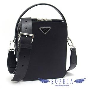 Prada Safiano crossbody bag black 20190329