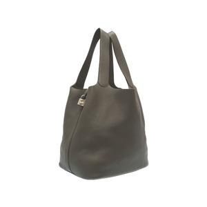 Hermes Picotan Lock TGM Trillon Clemance Ethan Silver Bracket □ P engraved (made in 2012) Handbag Bag 0217 HERMES