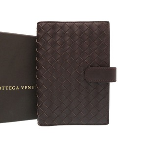Bottega Veneta Agenda Leather Brown notebook cover brown 0018 BOTTEGAVENETA Men's