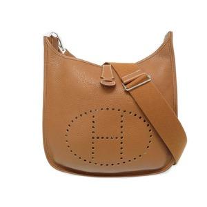 Hermes Evelyn 3 PM Trois Trillon Clements Gold □ R engraved Shoulder bag 0101 HERMES