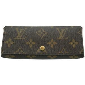 Louis Vuitton Monogram Pochette Rivett MM Fuchsia glasses case M61472 LV 0075 LOUIS VUITTON