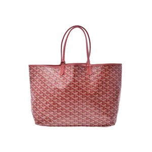 Goyard San Luis PM Red Ladies Men's PVC Tote Bag B rank with pouch GOYARD Used Ginzo