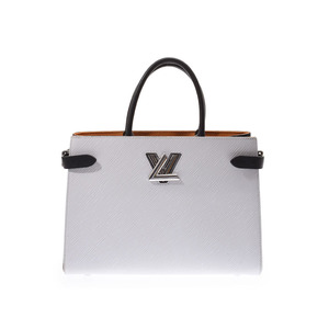 ルイ・ヴィトン(Louis Vuitton) ルイヴィトン エピ ツイストトート 白/黒 M53396 レディース 本革 2WAYバッグ ABランク LOUIS VUITTON 中古 銀蔵