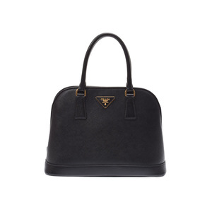 Prada 2WAY handbag black BN2567 Ladies Safiano A rank beauty goods strap Galla PRADA used Ginzo
