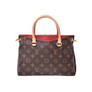 ルイ・ヴィトン(Louis Vuitton) ルイヴィトン モノグラム パラスBB スリーズ M41241 レディース 本革 2WAYハンドバッグ Aランク LOUIS VUITTON ストラップ付 中古 銀蔵